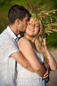 Pair of the enamoured — Stock Photo