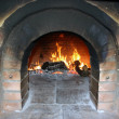 Stock Photo: Wood oven