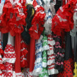 Stock Photo: Andalusiflamenco costumes