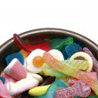 Candies and goodies — Stock Photo