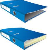 Folders — Stock Vector