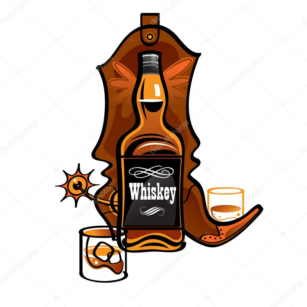 Cowboy Beer Glass