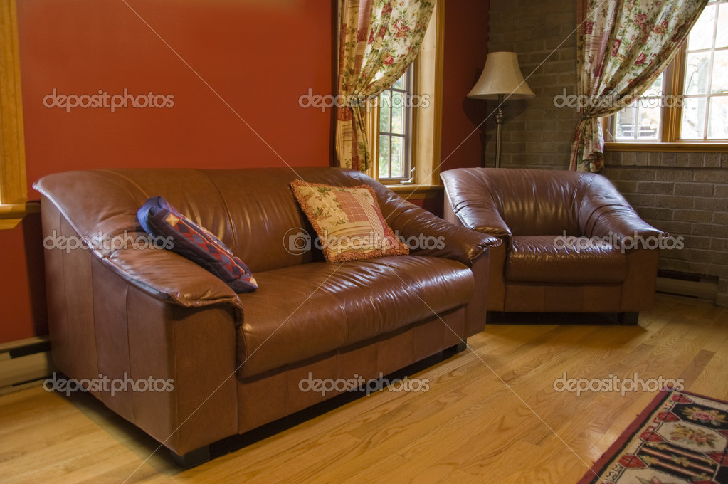 Warm living room — Stock Photo #4406194