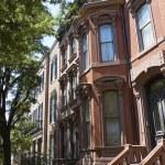 Red bricks houses — Stock Photo #4418269