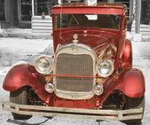 американский ретроавтомобиль — Стоковое фото