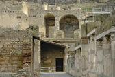 Tereny wykopaliskowe w Herkulanum — Zdjęcie stockowe