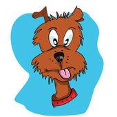 Perro de dibujos animados — Vector de stock