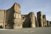 Caracalla's Baths site — Stock Photo