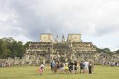 Pillars temple — Stock Photo