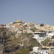 Fira village scenic view — Stock Photo