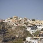 Fira village scenic view — Stock Photo #4541283
