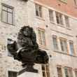 Statue of King Louis XIV — Stock Photo