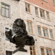 Statue of King Louis XIV - Stock Photo