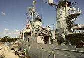 Námořnictvo loď uss cassin young — Stock fotografie