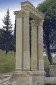 Columnas de mármol de Éfeso — Foto de Stock
