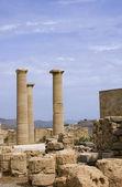 Lindos Acropolis — Stock Photo