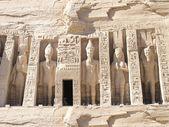 Abu Simbel Temple - Nefertari — Stock Photo