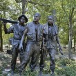 Vietnam war memorial - Stock Photo