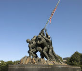 U.S. Marines corps war memorial — Stock Photo