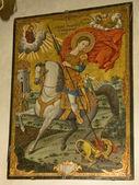 Greek Orthodox icon — Stock Photo