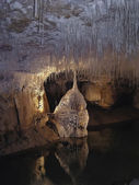Stalactites and stalagmites 1 — Stock Photo