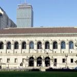 Boston Public Library — Stock Photo #5126096