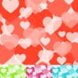 Royalty-Free Stock Vector Image: Seamless heart background. Vector illustration.
