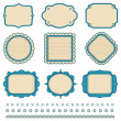 Royalty-Free Stock 矢量图片: Set of frames. Vector illustration.