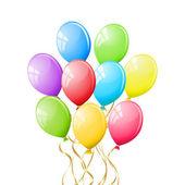 Balloons. Vector illustration. — Vector de stock