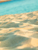 Tropical sand background — Stockfoto