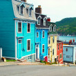 ストック写真: St. John's houses in Newfoundland