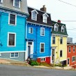 Stock Photo: St. John's houses in Newfoundland