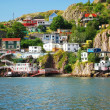 Stock Photo: Village in St. John's in Newfoundland