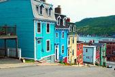 St. John's houses in Newfoundland — Stock Photo