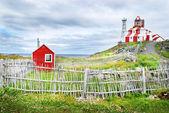 Cape Bona Vista Lighthouse — Stock Photo