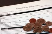 Job Application for Employment — Stock Photo