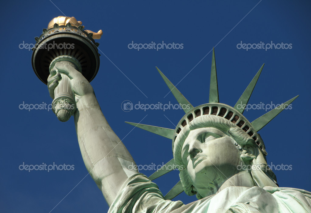 Statue of Liberty on Liberty Island in New York City — Stock Photo #4361238