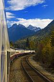 Rockies Train Journey — Stock Photo