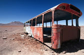 Abandoned Bus — Stock Photo