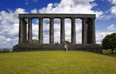 Scottish National Monument — 图库照片