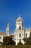 Estrela Basilica — Stock Photo