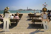 Canal grande a venezia — Foto Stock