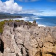 Punakaiki  Pancake Rocks - Stock Photo