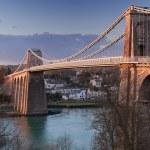 Puente de Menai — Foto de Stock