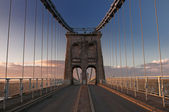 Menai Bridge — Stock Photo