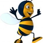 Cartoon bee — Stockfoto #4362601