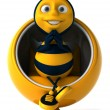 Cartoon bee — Stock Photo #4362638