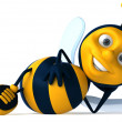 Cartoon bee — Stock Photo #4362689