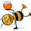 Cartoon bee — Stock Photo #4362722