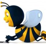 Cartoon bee — Stock Photo #4362754